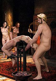 Slavegirls in an oriental world - Gobble on my cock, infidel scum by Damian