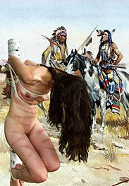 Wild west - Your pussy is for pleasing your great and noble chieftain, not for getting yourself off by Damian 2015