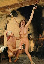 Slavegirls in an oriental world - Her clit stood up thick and full by Damian