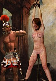 Roman decadence - This is why I just impaled your clam on that wooden dildo by Damian