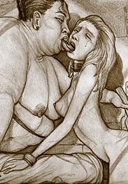 Captive kisses - Madame Miko started to kiss her English slave girl deep and hard by Hines