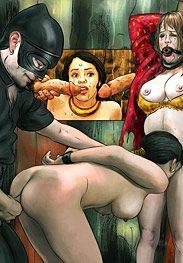 Flesh market - The unfaithful wife's punishment by Mr.Kane