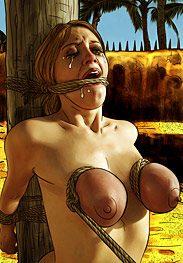 Flesh market - Brutal ordeal by Mr.Kane