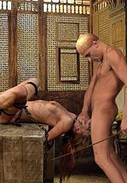 Slavegirls in an oriental world - He relished the idea of filling her with his holy by Damian