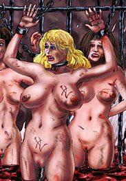 Throne 3 - The women scream in vain by Mr.Kane